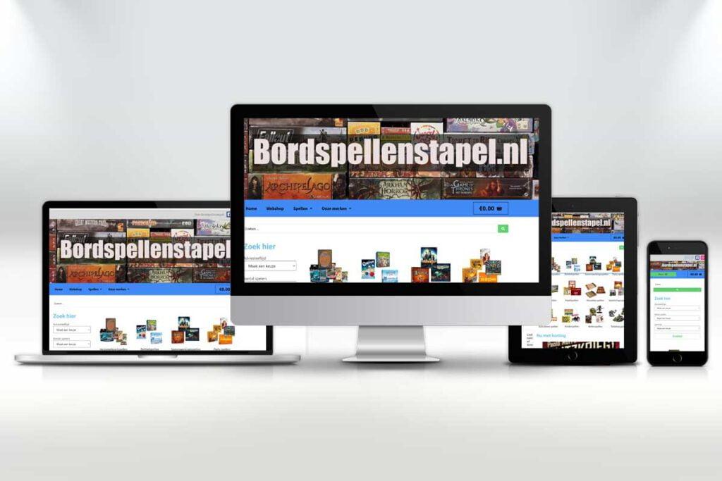 Bordspellenstapel.nl is de online speelgoedwinkel voor alle denkbare bordspellen.